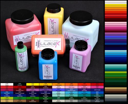 Lilatex Creativ Latex farbig 1 Liter farbige extra-dickflüssige Latexmilch - Flüssiglatex