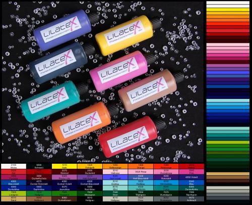 Lilatex Farbkonzentrat - 100 ml für Latexmilch - Flüssiglatex - Latexcremes - Latexpasten