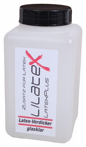 Lilatex Latex-Verdicker - 500 ml für Latexmilch - Flüssiglatex - Latexcremes - Latexpasten